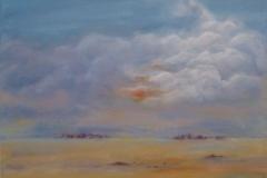 W3, Wolkenstimmung I, 2008, AL, 40x50, © Lore Weiler