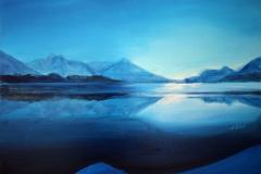 M7, Spiegelung, 2007, A-L, 60x80, © Lore Weiler