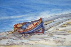 M1, 2004, Aquarell, 50x60, © Lore Weiler