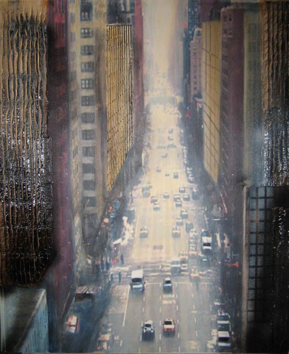 S1, New York IV, 2008, A-L-MT, 60x50, verkauft, © Lore Weiler