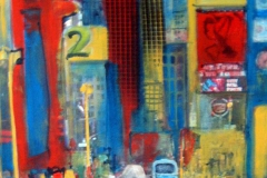 S3, NY-Taxi, 2008,  A-L, 40x30, © Lore Weiler