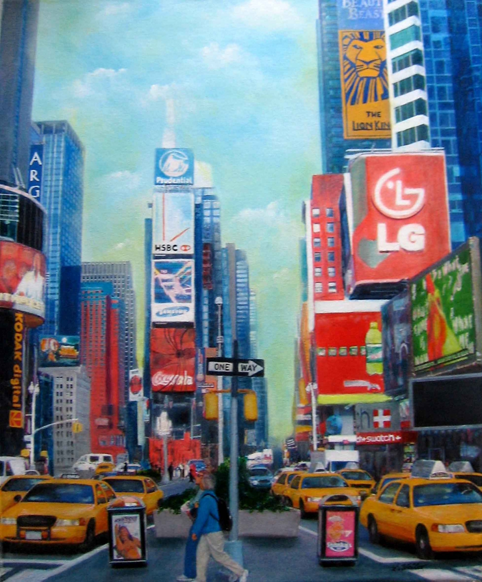 S8, Times Square, 2008,  A-L, 60x50, © Lore Weiler